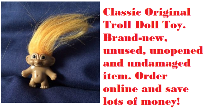 Original Troll Doll Toy Worth 10000 Selling on eBay - img3