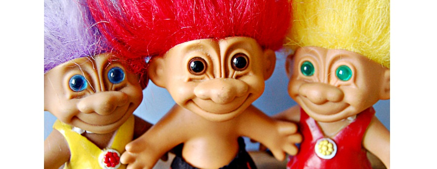 Original Troll Doll Toy Worth 10,000 Selling on eBay