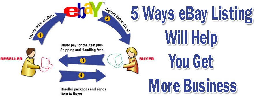 5 Ways eBay Listing Will Help You Get More Business