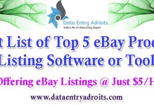 Best List of Top 5 eBay Product Listing Software or Tools