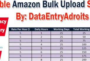 Which Company Offers Amazon Bulk Upload Services in-5-Hr
