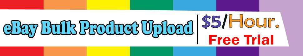 eBay Bulk Product Upload Services